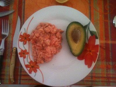 Tartare de Saumon + Avocat